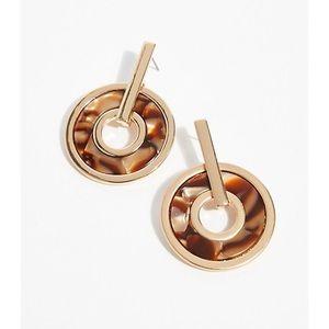 Free people hoop earrings NWT